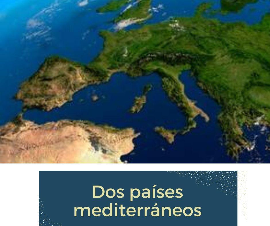 Enlace de acceso a temas de Italia y España
