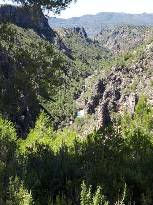 Cañón del Barranco de la Encantada y poza