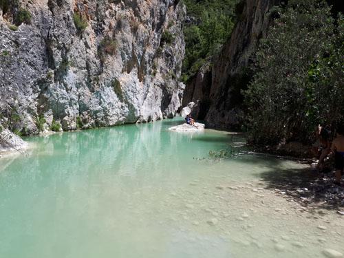 Poza de agua del Barranco de la Encantada